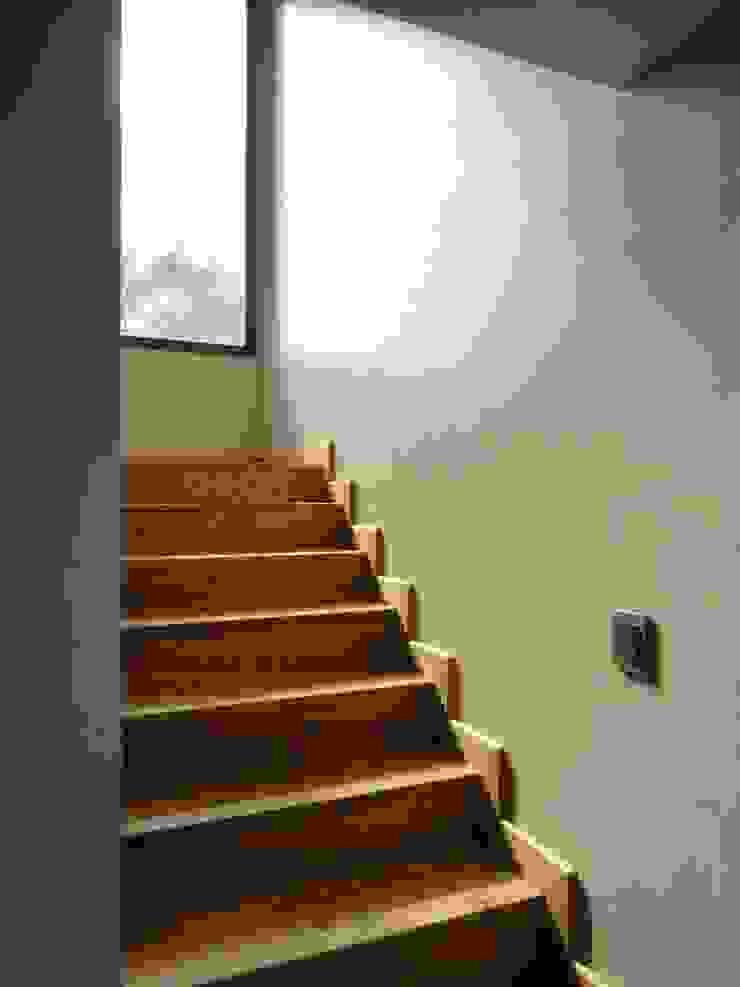 Obra Martin Pacheco Pasillos, vestíbulos y escaleras modernos de do+b Estudio de Arquitectura Moderno