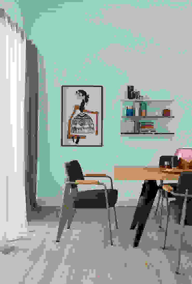 SCHÖNER WOHNEN-FARBE Modern walls & floors Green