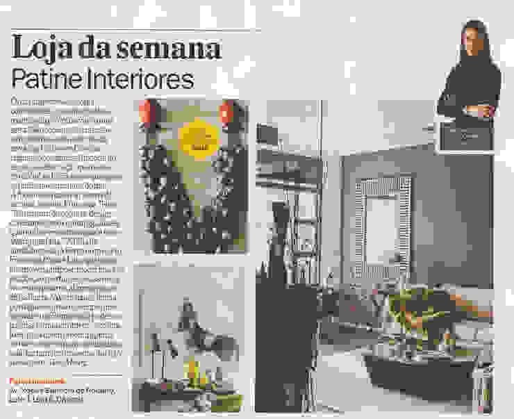 Na TimeOut Lisboa Lojas e Espaços comerciais eclécticos por Patine Eclético