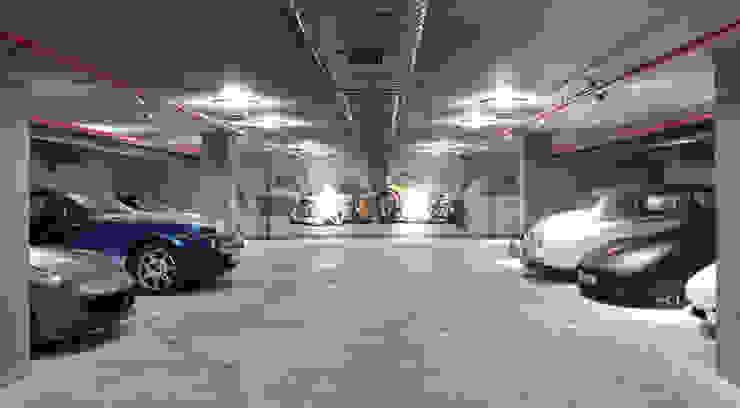 Otopark Genel Görünüm Modern Garaj / Hangar Pimodek Mimari Tasarım - Uygulama Modern