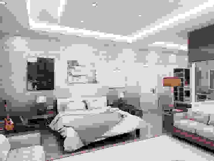 YATAK ODASI Modern Yatak Odası homify Modern