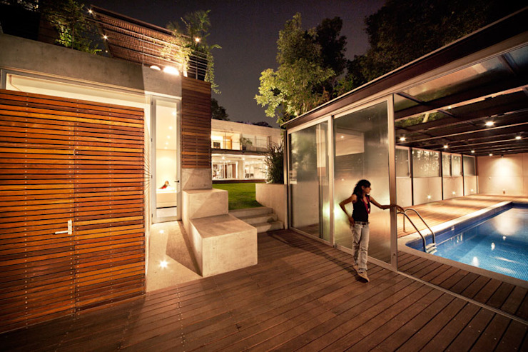 Projekty,  Domy zaprojektowane przez grupoarquitectura, Minimalistyczny