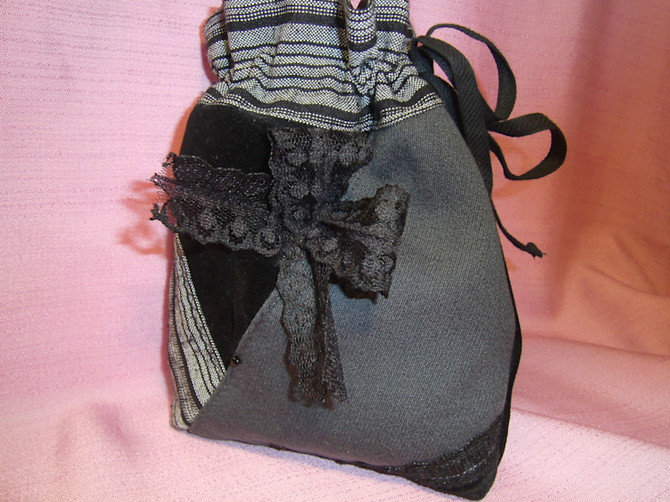 schneiderei jerke BathroomTextiles & accessories Cotton Black