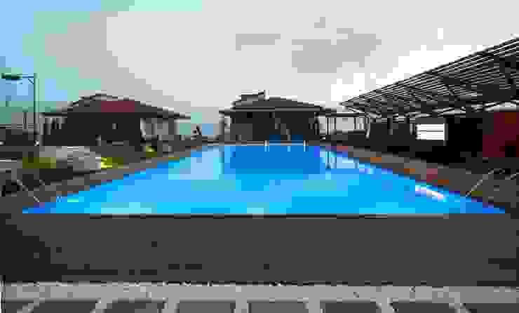 Çamlıca'da Villa Modern Havuz Pimodek Mimari Tasarım - Uygulama Modern