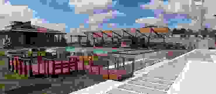 Çamlıca'da Villa Modern Bahçe Pimodek Mimari Tasarım - Uygulama Modern