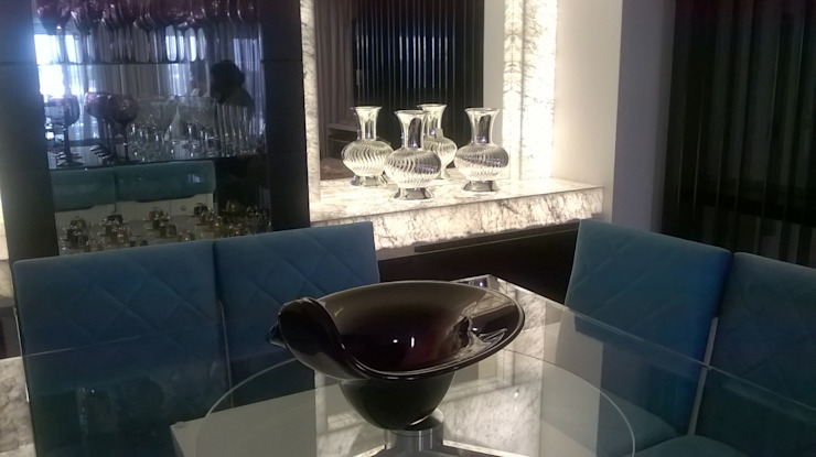 Modern dining room by MC3 Arquitetura . Paisagismo . Interiores Modern