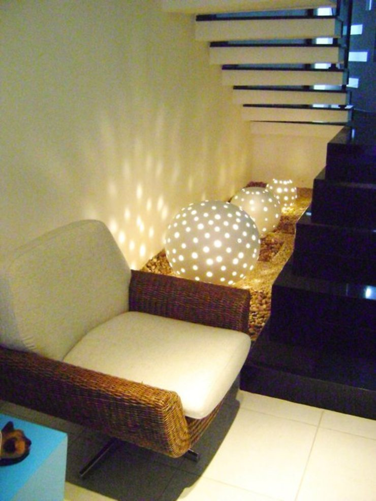 Minimalist conservatory by MC3 Arquitetura . Paisagismo . Interiores Minimalist