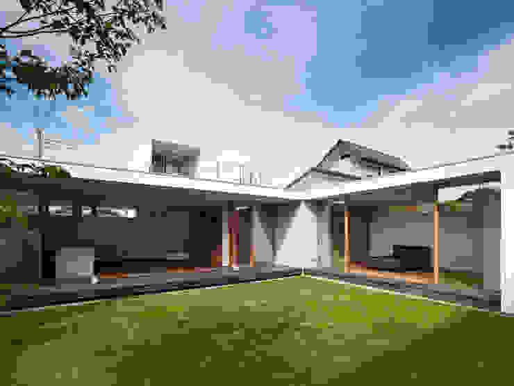 小野里信建築アトリエ Modern style gardens
