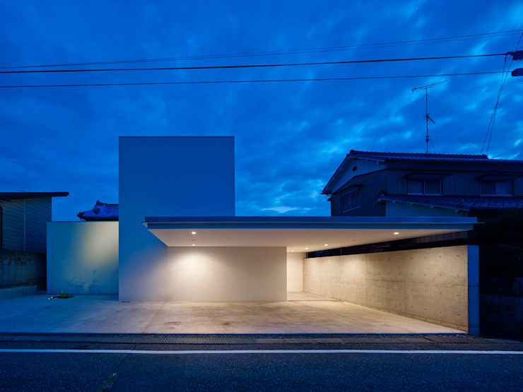 小野里信建築アトリエ Casas estilo moderno: ideas, arquitectura e imágenes