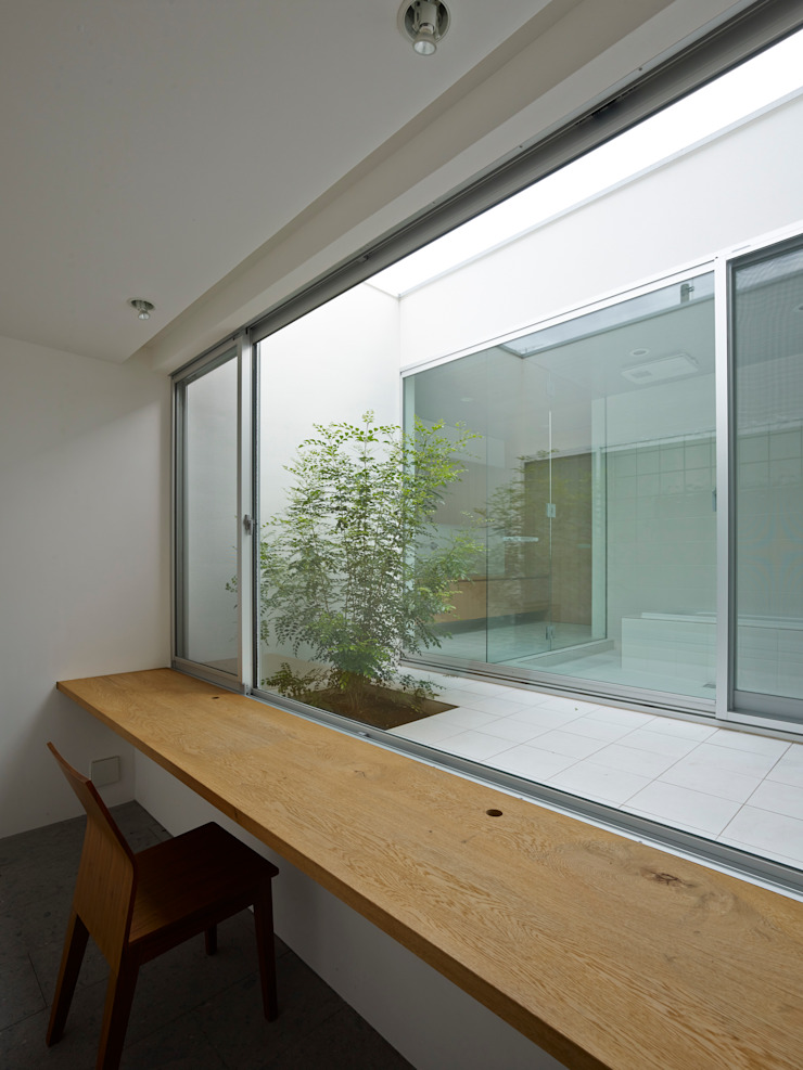 小野里信建築アトリエ Oficinas y bibliotecas de estilo moderno