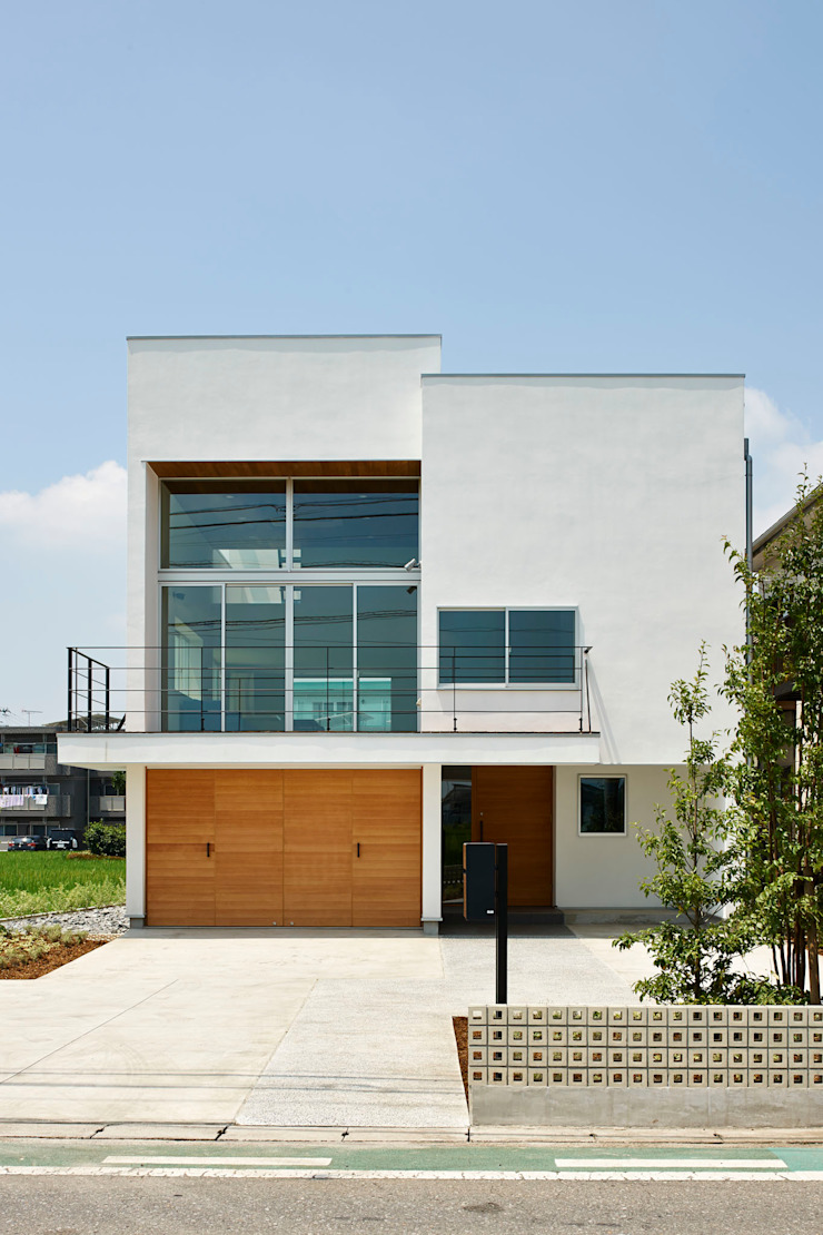 小野里信建築アトリエ Moderne Häuser