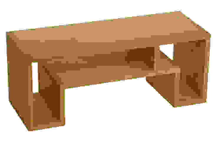 SHOJI - Occasional Table Small: abode Co., Ltd.が手掛けたミニマリストです。,ミニマル