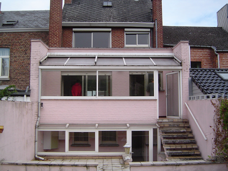 modern  by Bureau d'Architectes Desmedt Purnelle, Modern