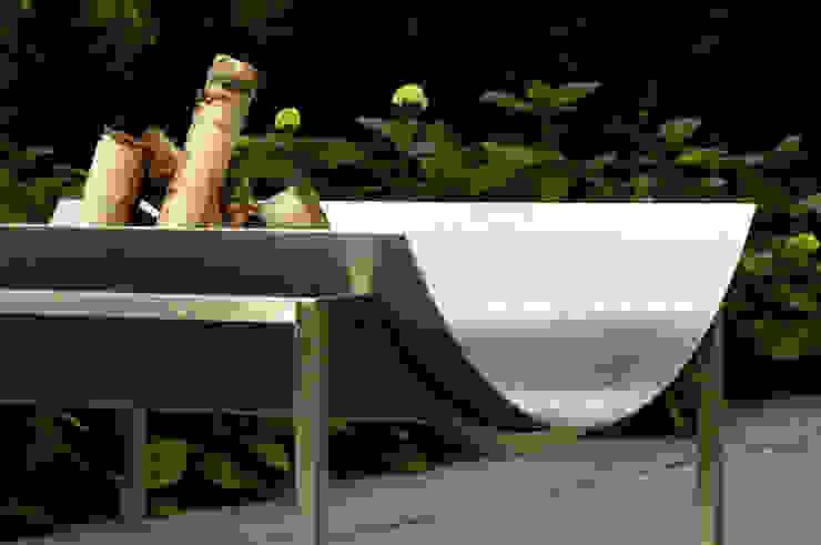 Luna 99 Finoform GartenFeuerplätze und Grill Metall Metallic/Silber