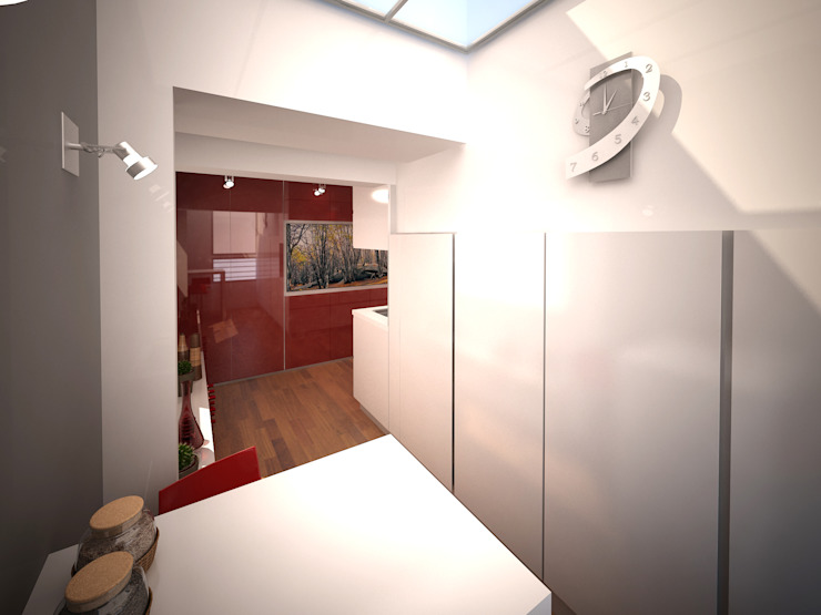 Cucina minimalista di ARQUITECTURA EN IMÁGENES Minimalista