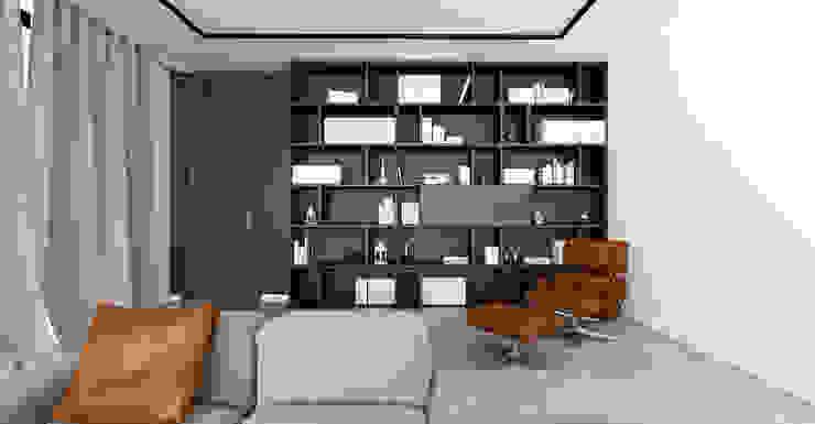 Apartament Bielsko-Biała Nowoczesny salon od Ale design Grzegorz Grzywacz Nowoczesny