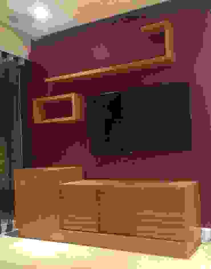 Mueble TV de Demadera Caracas Moderno