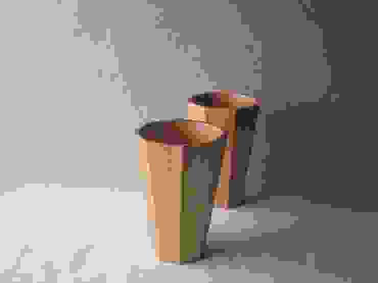 花器 4寸 面取り: 清水桶屋が手掛けたアジア人です。,和風 木 木目調