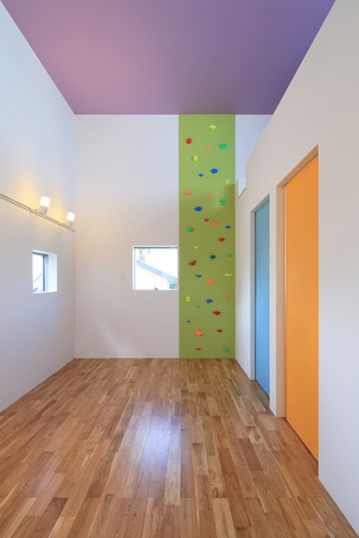 House-MSD【 White Rainbow -白虹- 】 モダンデザインの 子供部屋 の bound-design モダン