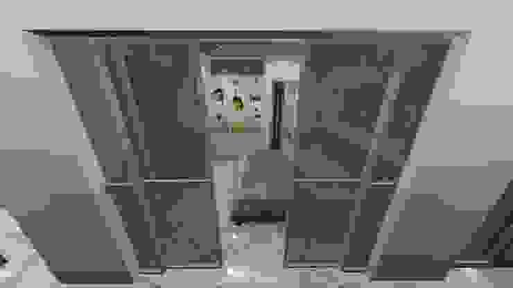 DORMITORIO, APARTAMENTO EN TENERIFE, ESPAÑA Grupo JOV Arquitectos Puertas y ventanasPuertas Vidrio Transparente
