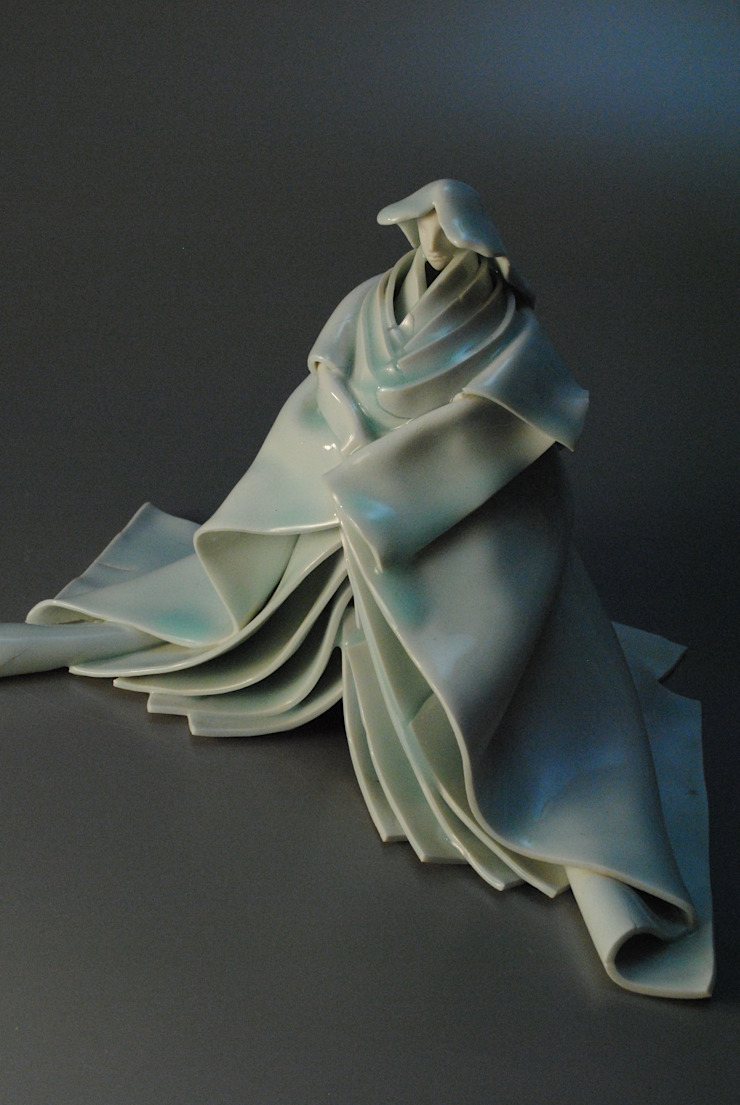 ヒトガタ(女形): 伊藤たかをが手掛けた折衷的なです。,オリジナル 磁器
