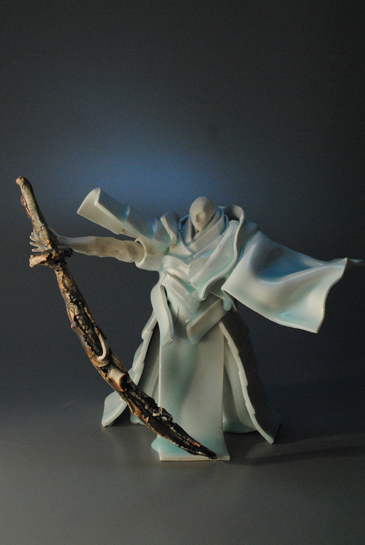 ヒトガタ(男形): 伊藤たかをが手掛けた折衷的なです。,オリジナル 磁器