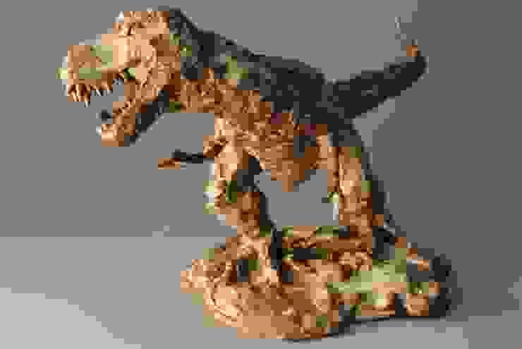 恐竜(大): 伊藤たかをが手掛けた折衷的なです。,オリジナル 陶器
