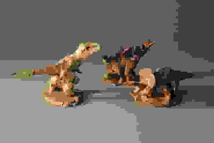 恐竜(小): 伊藤たかをが手掛けた折衷的なです。,オリジナル 陶器