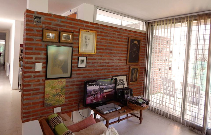 Casa Habiaga-Morel Comedores modernos de punto2 Moderno