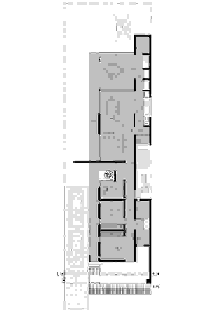 Casa Habiaga-Morel de punto2 Moderno