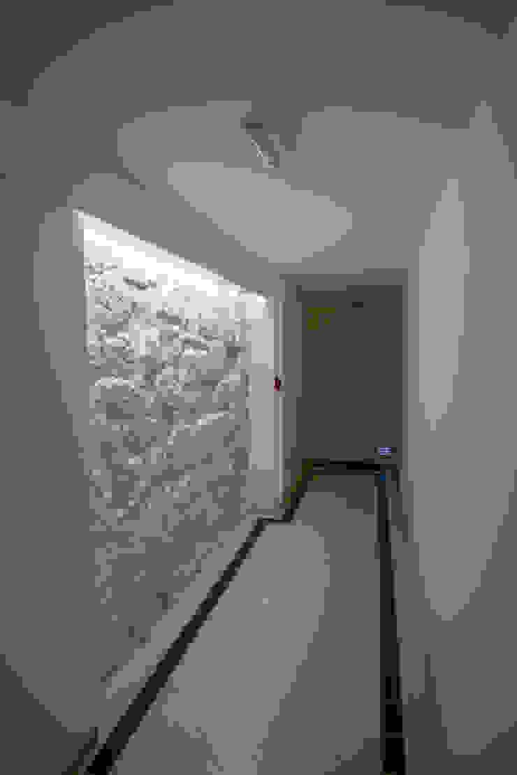 Reabilitação imóvel, Centro Histórico do Porto Corredores, halls e escadas modernos por Sandra Couto arquitectura Moderno