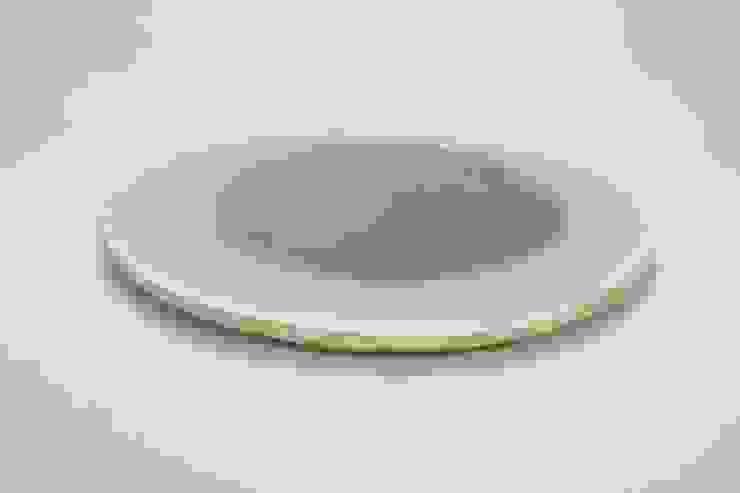 水たまり(大-8寸): 新田 学 (GAKU! CO-BO)が手掛けた折衷的なです。,オリジナル 陶器