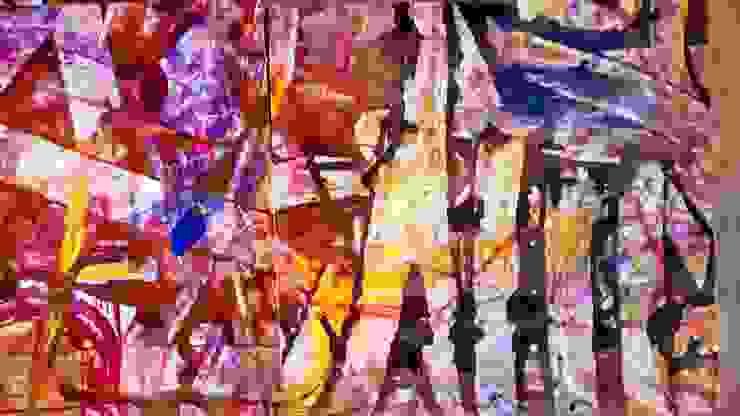 Abstracto de Adriana Filei Moderno Papel