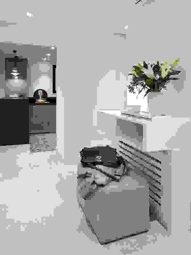 Mediterranean style corridor, hallway and stairs by Molins Design Mediterranean