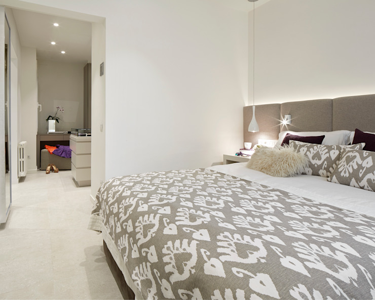 Habitaciones de estilo mediterráneo de Molins Design Mediterráneo