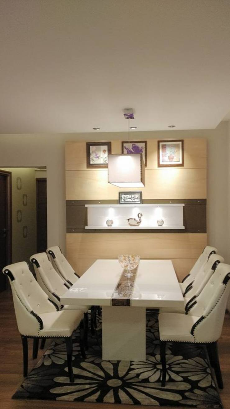 Apartment Modern dining room by 4site architects Modern