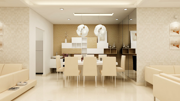 Modern dining room by homify Modern MDF