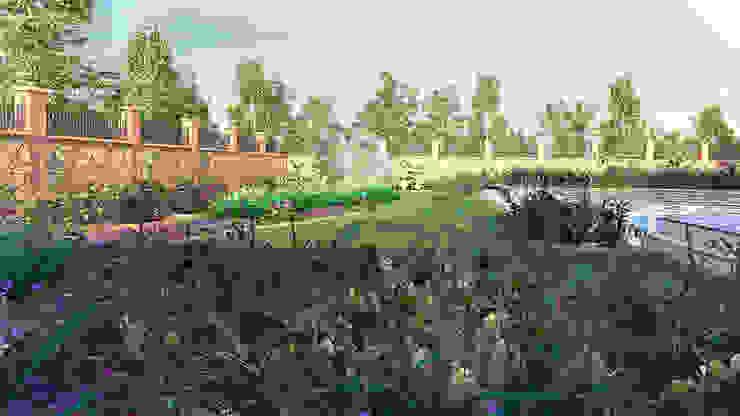 villa 03 GRNT3D Klasik Bahçe