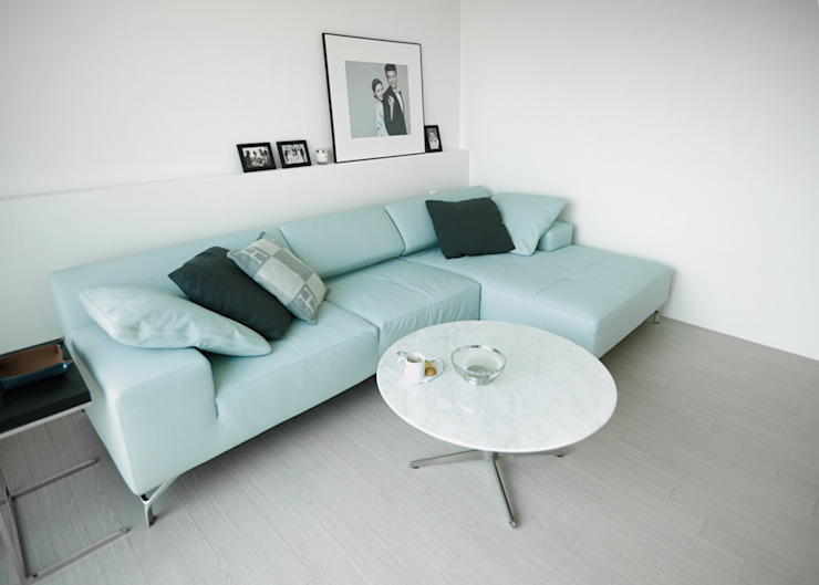 Scandinavian style living room by 샐러드보울 디자인 스튜디오 Scandinavian