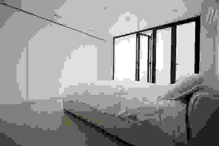 압구정 한양아파트 스칸디나비아 침실 by 샐러드보울 디자인 스튜디오 북유럽