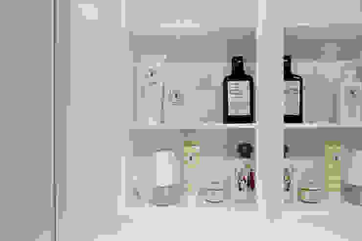 압구정 한양아파트 스칸디나비아 욕실 by 샐러드보울 디자인 스튜디오 북유럽