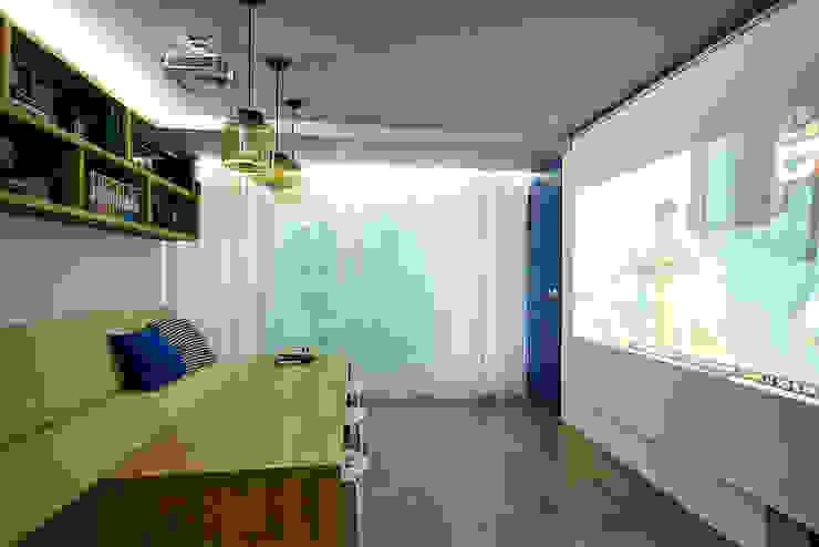 Projekty,  Domowe biuro i gabinet zaprojektowane przez homify, Industrialny
