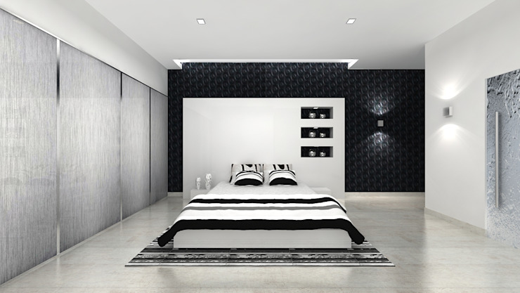 Modern Bedroom by homify Modern MDF