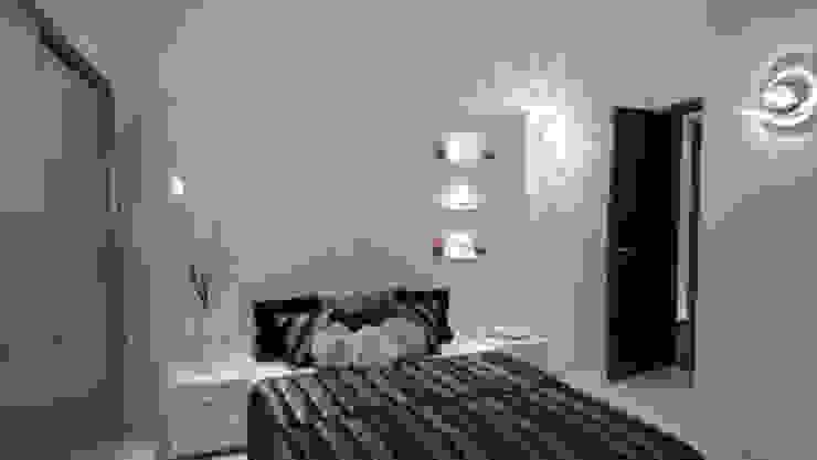 RESIDENTIAL INTERIOR, MYSORE. (www.depanache.in) Modern style bedroom by De Panache - Interior Architects Modern MDF
