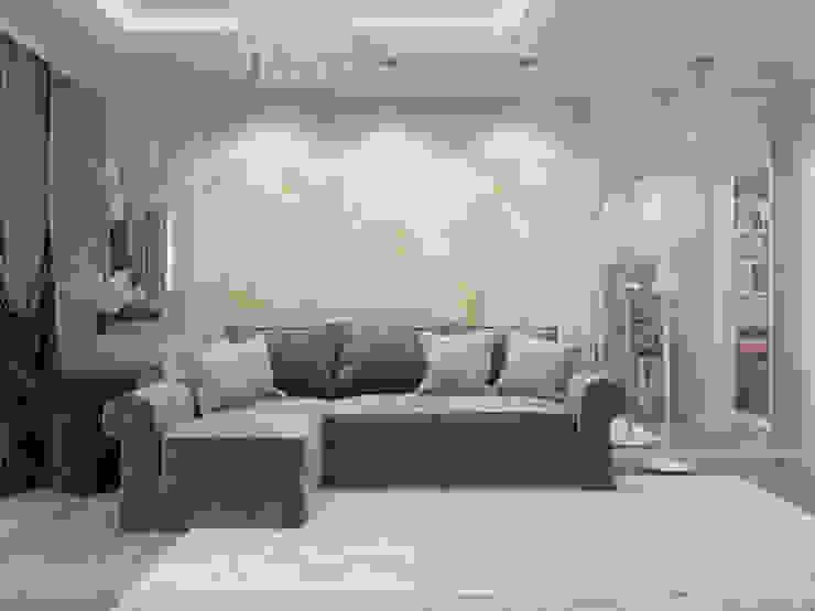 Livings de estilo clásico de Студия дизайна интерьера Маши Марченко Clásico