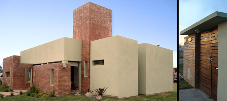 Maisons modernes par ELVARQUITECTOS Moderne