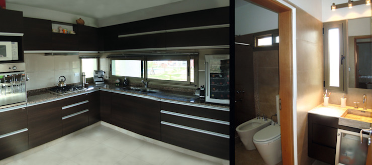Modern Kitchen by ELVARQUITECTOS Modern