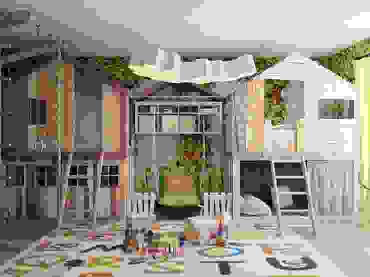 Quarto infantil minimalista por Студия дизайна интерьера Маши Марченко Minimalista