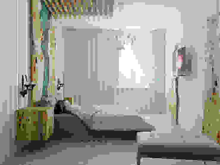 Minimalist bedroom by Студия дизайна интерьера Маши Марченко Minimalist