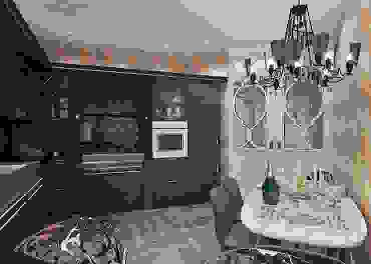 Minimalist kitchen by Студия дизайна интерьера Маши Марченко Minimalist